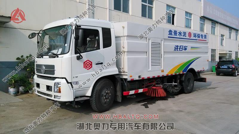 东风天锦高压洗扫车
