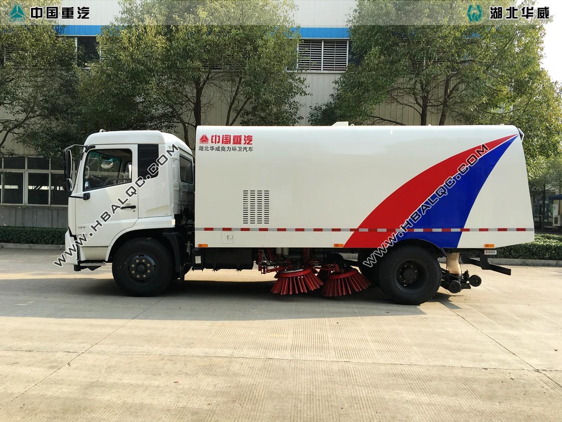 东风天锦扫路车天然气发动机