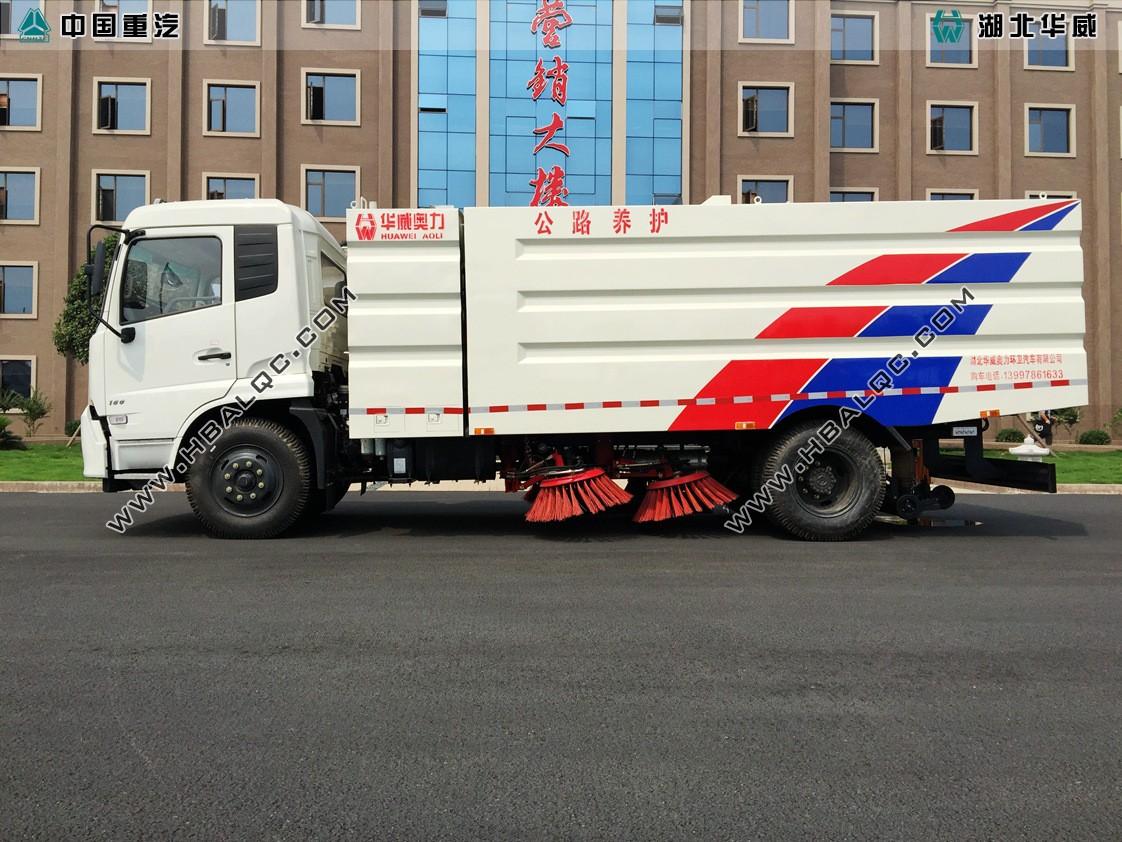 东风天锦道路清扫车国五